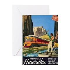Hiawatha, 1952 Greeting Cards (Pk of 10)
