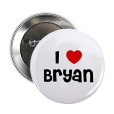"I * Bryan 2.25"" Button (10 pack)"