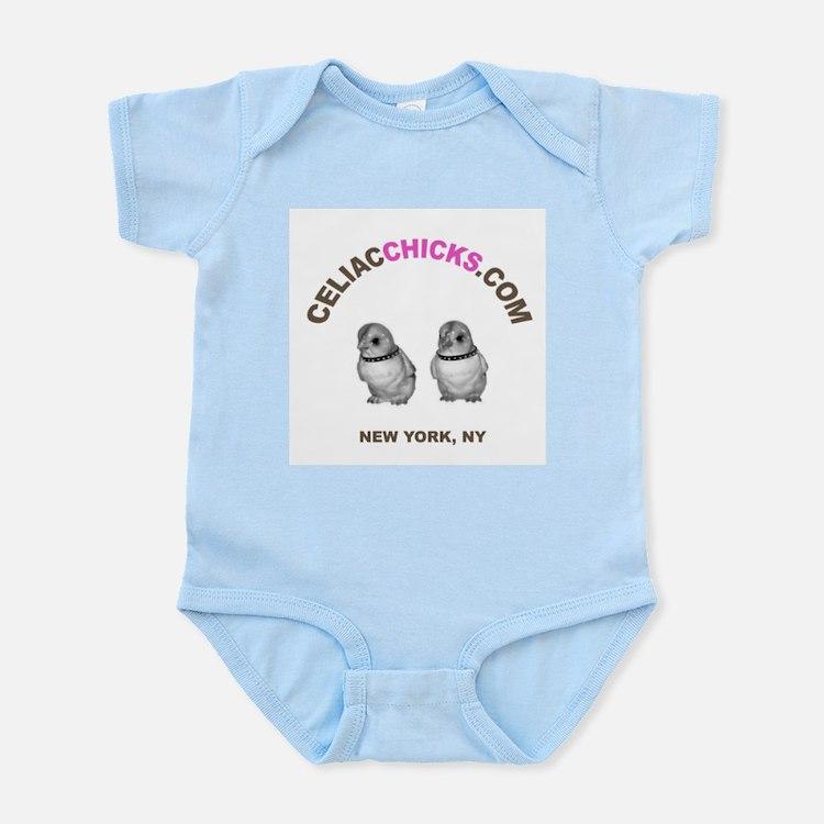 celiacchicks infant bodysuit
