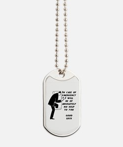Emergency Assistance Dog Tags