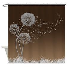 Dandelion Wishes Shower Curtain