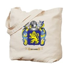 Evans Coat of Arms Tote Bag