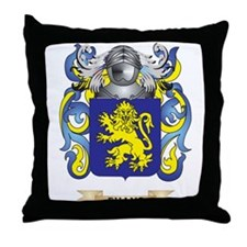 Evans Coat of Arms Throw Pillow
