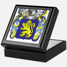 Evans Coat of Arms Keepsake Box