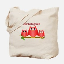 Red Owls Customize Tote Bag