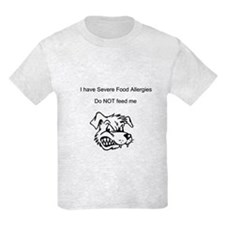 Don't feed me Food Allergy T-Shirt