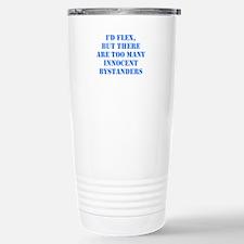 Flexing Danger Travel Mug