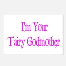 I'm Your Fairy Godmother Postcards (Package of 8)