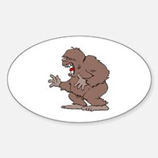 Bigfoot Oval Decal