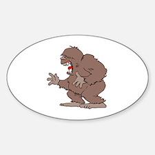 Bigfoot Oval Stickers