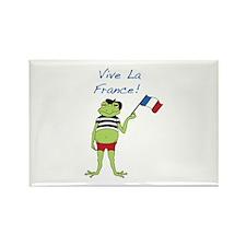 Viva La France Rectangle Magnet (10 pack)