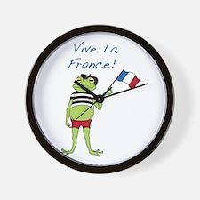 Viva La France Wall Clock