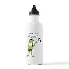 Viva La France Water Bottle