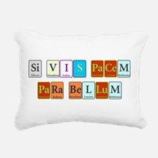 Si Vis Pacem Para Bellum Rectangular Canvas Pillow
