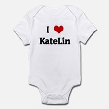 I Love KateLin Infant Bodysuit