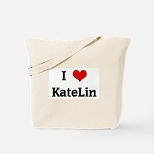 I Love KateLin Tote Bag