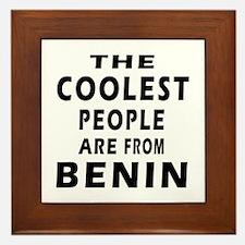 The Coolest Benin Designs Framed Tile