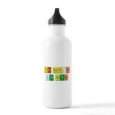 Per Aspera Ad Astra Water Bottle