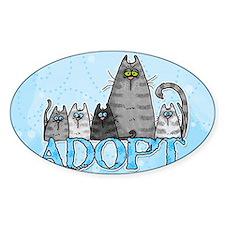 adopt Rectangle Decal