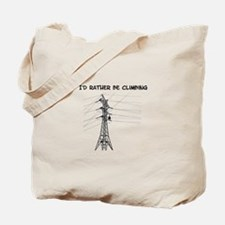 Id Rather Be Climbing Tote Bag