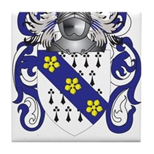 Exell Coat of Arms Tile Coaster