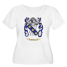 Exell Coat of Arms Plus Size T-Shirt