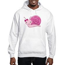 Pink Baby Snail Hoodie