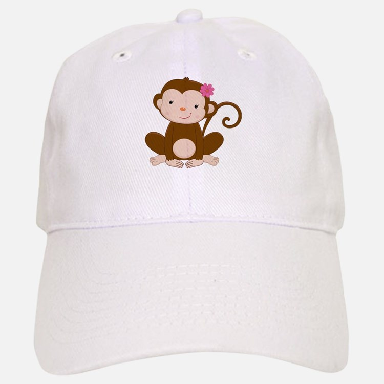 Baby Monkey Baseball Baseball Cap