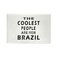 The Coolest Brazil Designs Rectangle Magnet