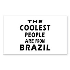 The Coolest Brazil Designs Decal