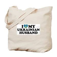I Love My Ukrainian Husband Tote Bag