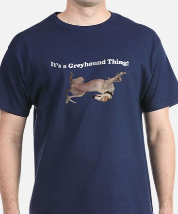 Greyhound Thing Navy blue T-Shirt