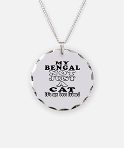 Bengal Cat Designs Necklace