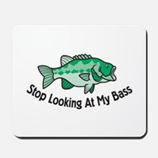 Bass fishing mousepads buy bass fishing mouse pads for My fish stop