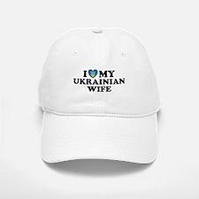 I Love My Ukrainian Wife Baseball Baseball Cap