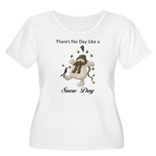 No Day Like a Snow Day Plus Size T-Shirt