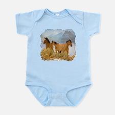 Buckskin Horses Infant Bodysuit