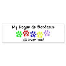 Dogue Walks Bumper Bumper Sticker