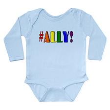 Ally Long Sleeve Infant Bodysuit