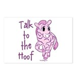 Talk To The Hoof Postcards (Package of 8)