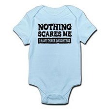 Nothing Scares Me - 3 Daughters Body Suit
