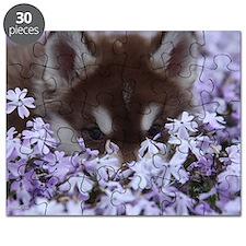 Flower Husky Puzzle