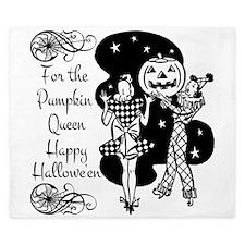 Pumpkin Queen King Duvet