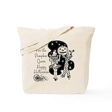 Pumpkin Queen Tote Bag
