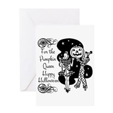 Pumpkin Queen Greeting Card
