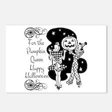 Pumpkin Queen Postcards (Package of 8)
