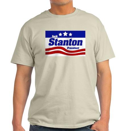 Jack Stanton Ash Grey T-Shirt
