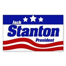 Jack Stanton Rectangle Decal