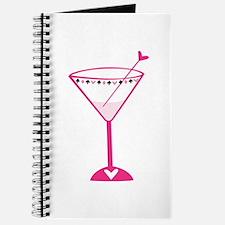 Pink Poker Martini Journal