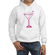 Pink Poker Martini Hoodie